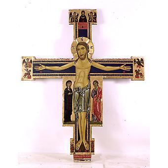 Crucifix panel,Berlinghiero Berlinghieri,50x40cm