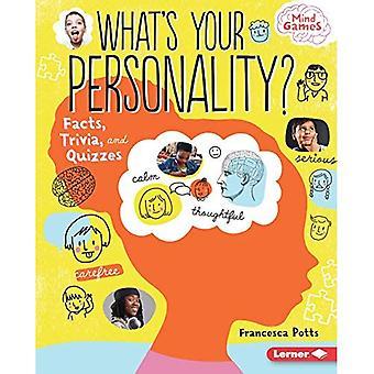 Qual è la vostra personalità?: fatti, curiosità e quiz (Mind Games)