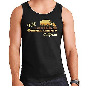 Visit Orange County California Men's Vest