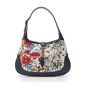 Gucci Multicolor Cotton Shoulder Bag