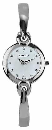 Michel Herbelin Womens Stainless Steel Case, Mother Of Pearl 17001/B59 Watch