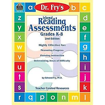 Informal Reading Assessments by Dr. Fry Book