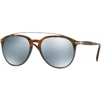 Persol 3159S Fuoco E Ardesia mirrored green money