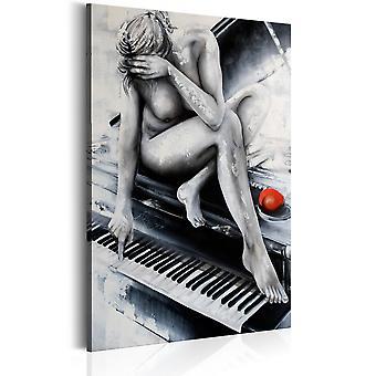 Kanfastryck-sensuell musik