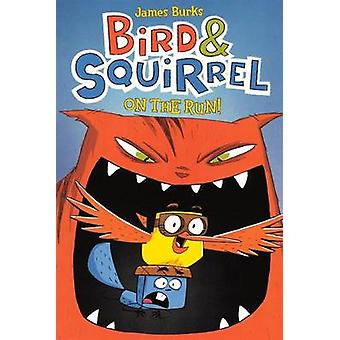 Bird & Squirrel on the Run by James Burks - 9780606262118 Book