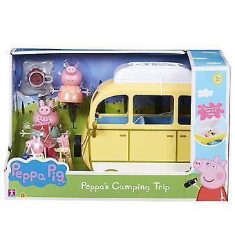 Пеппа Свинья Кемпинг Поездка Playset