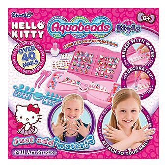 Aquabeads Hello Kitty Nail Art Studio