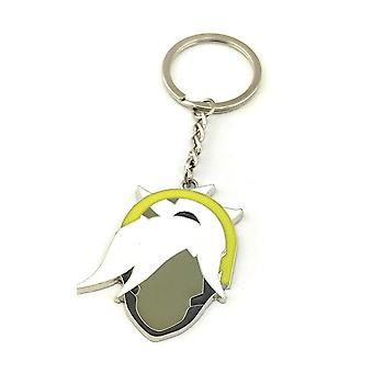 Key Chain - Overwatch - Mercy Enamal Metal New kc-ow-mrcyhd