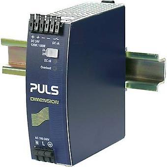 PULS DIMENSION Rail mounted PSU (DIN) 24 Vdc 5 A 120 W 1 x