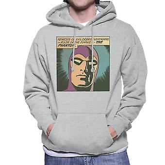The Phantom Nemesis Of Evil Doers Men's Hooded Sweatshirt