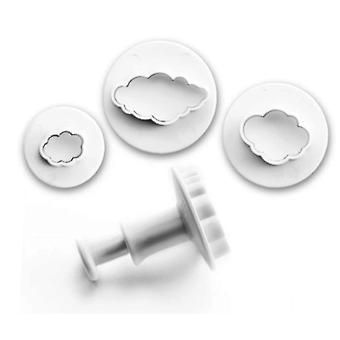 Ibili September 3 Cutters With Ejector Clouds (Kitchen , Bakery , Utensils)