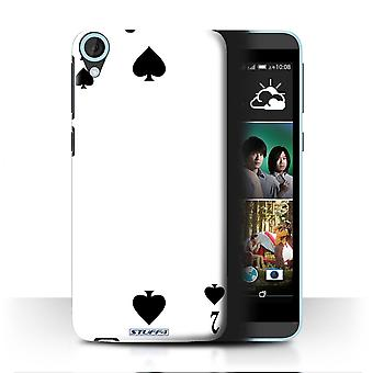 STUFF4 Case/Cover for HTC Desire 820G+ Dual/2 of Spades/Playing Cards