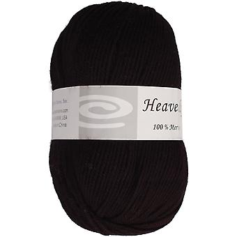 Heavenly Yarn Charcoal Black Q52 100 F620