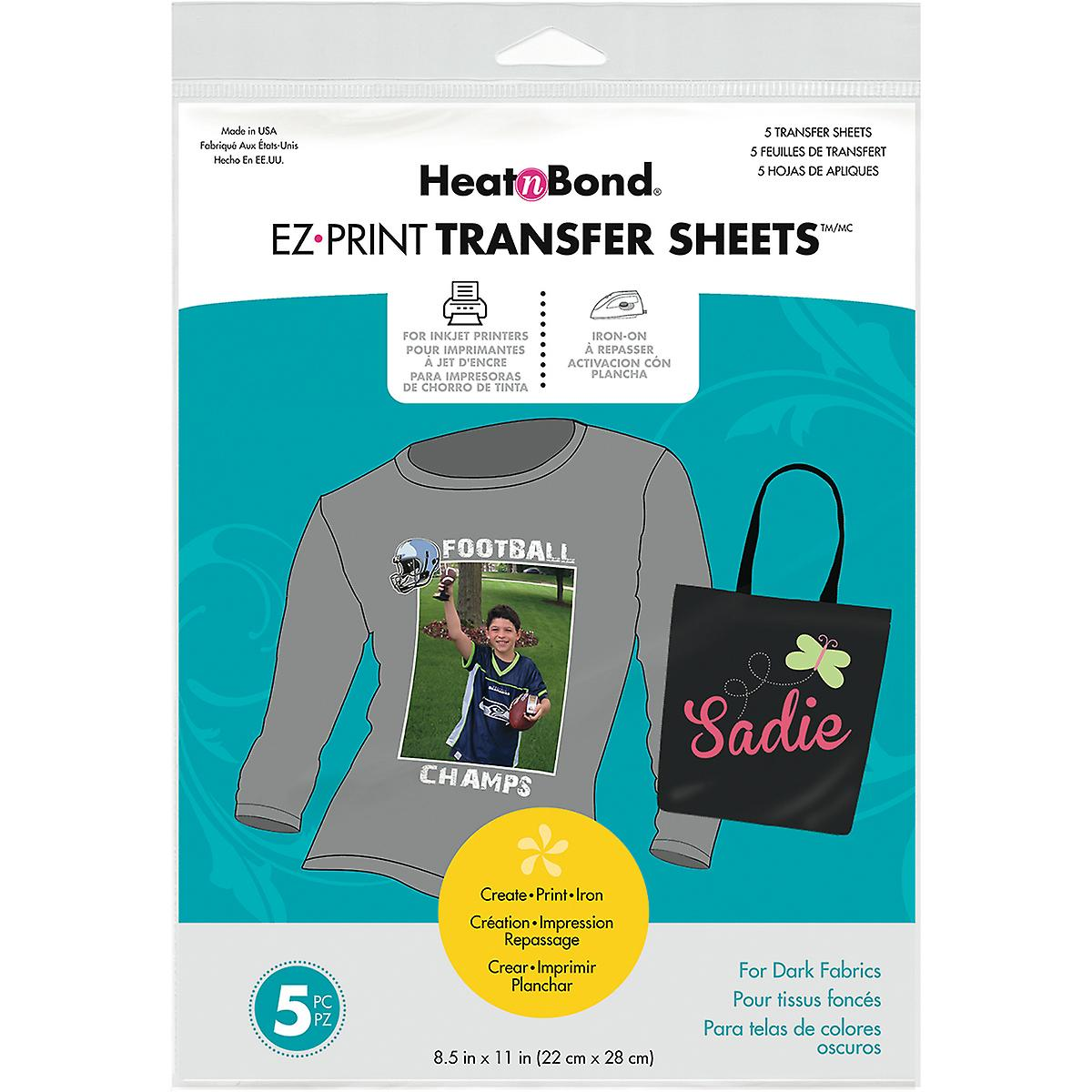 Heat'n Bond Ez Print Transfer Sheet 8.5