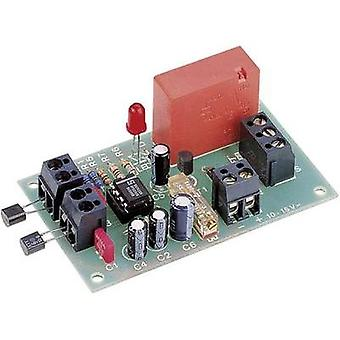 Differential temperature controller Assembly kit Conrad Components 194360 12 Vdc -5 up to 100 °C
