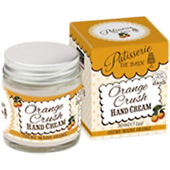 De Patisserie Rose & Co. Bain Orange Crush mano Crema Jar