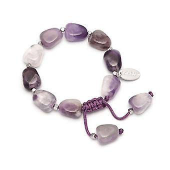 Lola Rose Henny Bracelet Light Cape Amethyst