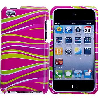 Zebra pattern hard plastic cover-iPod touch 4