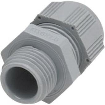 Cable gland M25 Polyamide Silver-grey (RAL 7001) Helukabel HT 93926 1 pc(s)