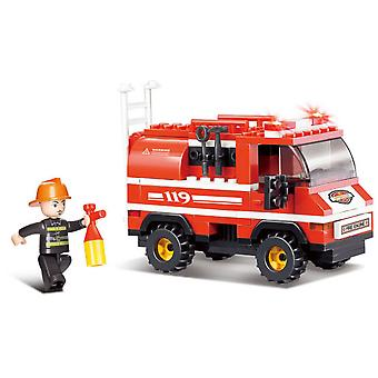 Sluban Mini Fire Alarm Fire Truck