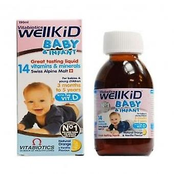 Vitabiotics - Wellbaby sirup 150ml
