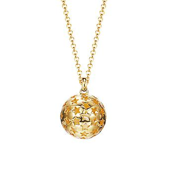 ESPRIT women's chain necklace Silver Gold Galaxy ESNL93173B700