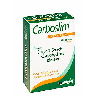 Health Aid Carboslim Phase 2 (with Chromium & Green Tea) - Blister Pack<b>New</b> ,  60 Capsules