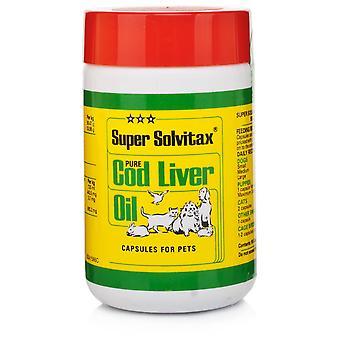 Super Solvitax Pure Cod Liver Oil 90 Capsules