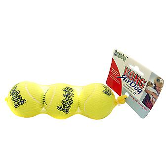 Kong Air Squeaker Tennis Balls Regular 3pack