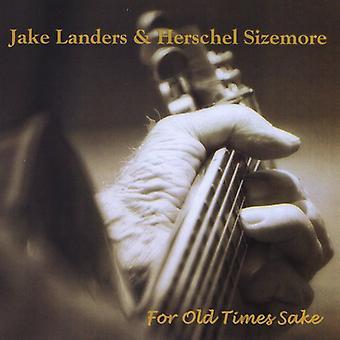 Jake Landers & Herschel Sizemore - für die alten Zeiten willen [CD] USA import