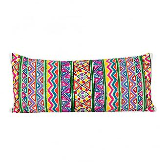 Boutique Camping Multicoloured Woollen Embroidery Cushion