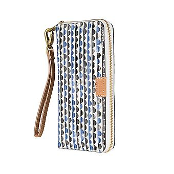 FOSSIL ladies wallet purse coin purse with RFID-chip protection blue 5970