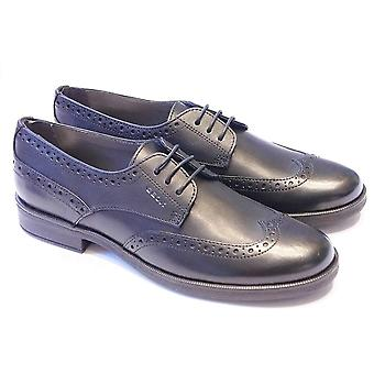 Geox Geox Agata Mädchen Brogue Lace Up School Schuh