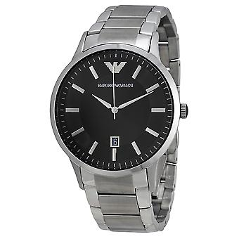 Emporio Armani AR2457 Stainless Steel Black Dial Watch