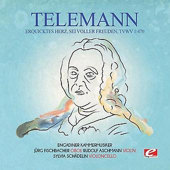 Telemann - Erquicktes Herz Sei Voller vertreiben die Nacht Tvwv 1:470 [CD] USA import