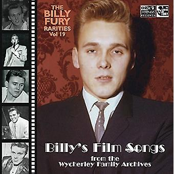 Billy Fury - sjældenheder Vol: 19 (Billy Film sange) [CD] USA importerer