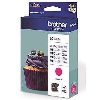 Brother LC-121 m toner cartridge magenta (600 pagina's)