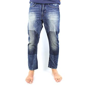 G-Star Type C 3D Loose Tapered Block Wash Randwick Denim Jeans