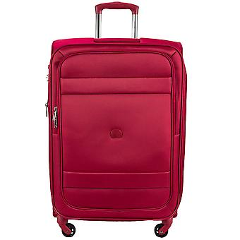 Delsey indiscrete 4-wheels trolley soft luggage suitcase 78 cm