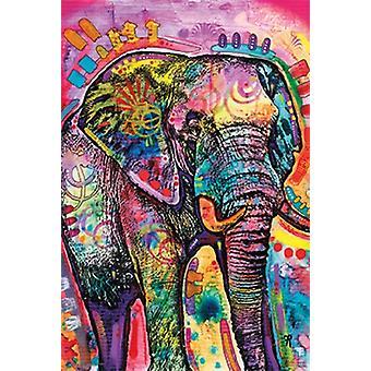 Dean Russo olifant Poster Poster afdrukken