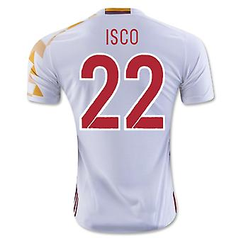 2016-2017 Spain Adidas Away Shirt (Isco 22) - Kids
