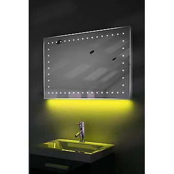 Ambient Ultra-Slim LED Mirror With Demister Pad & Sensor K164
