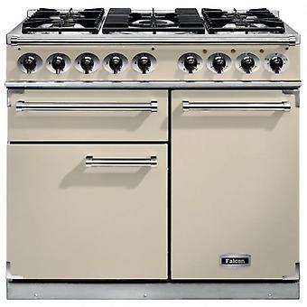 FALCON F1000DXDFCRCM 98610 - 100cm Deluxe Range Cooker, Cream Finish