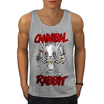 Cannibal Men GreyTank Top | Wellcoda