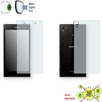 Sony Xperia Z1 LTE front + back screen protector - Disagu ClearScreen protector (1 front / 1 rear)