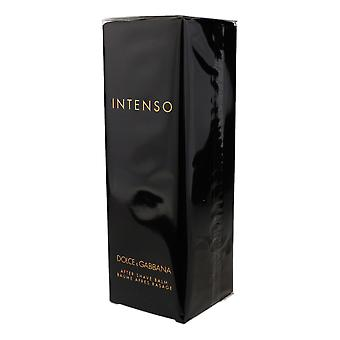 Dolce & Gabbana Intenso After Shave Balm Sample 3.3Oz/100ml New In Box