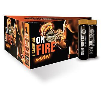 Gold Nutrition L-Carnitine Onfire Man 15 Unidosis