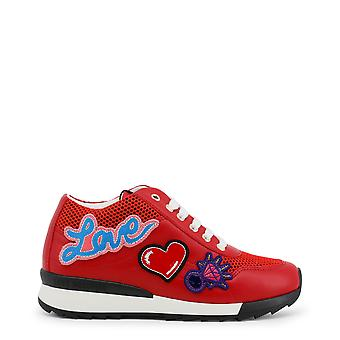 Love Moschino Women Sneakers Red