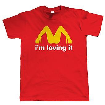 I 'm loving It, Mens rolig T Shirt