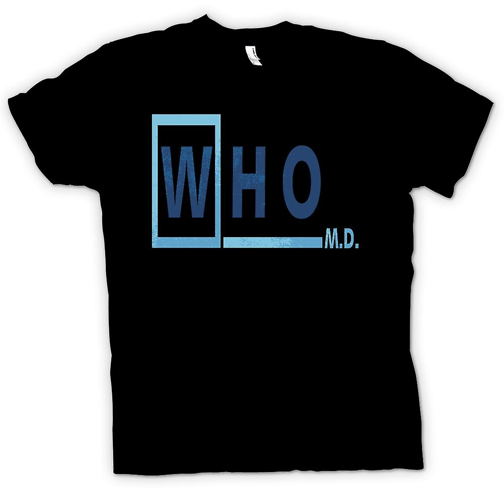 Womens T-shirt - Who M D